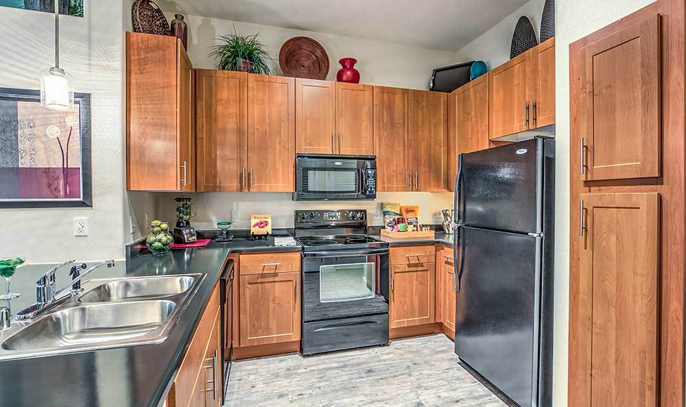 Kitchen appliances included at Lofts at 7100