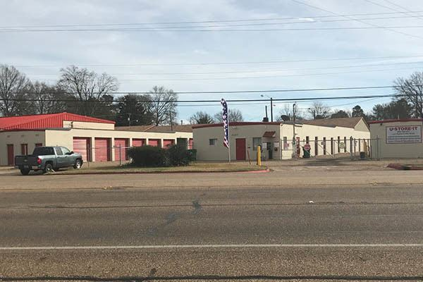 View From Street of U-Store-It in Texarkana, TX