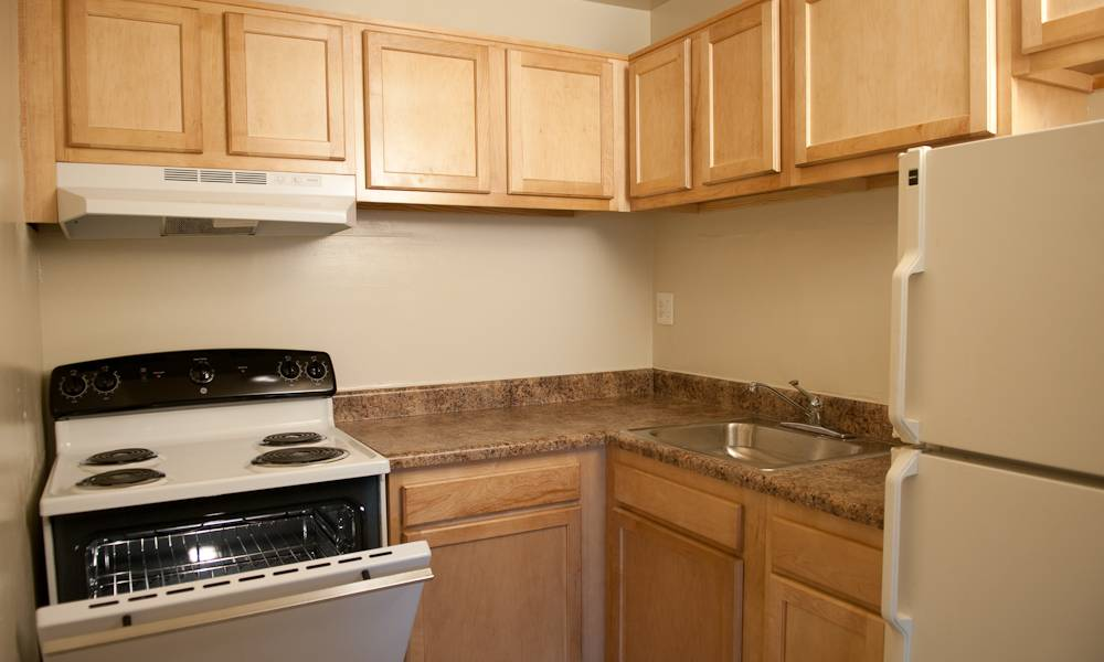 Updated kitchen at Colonial Village in Manassas