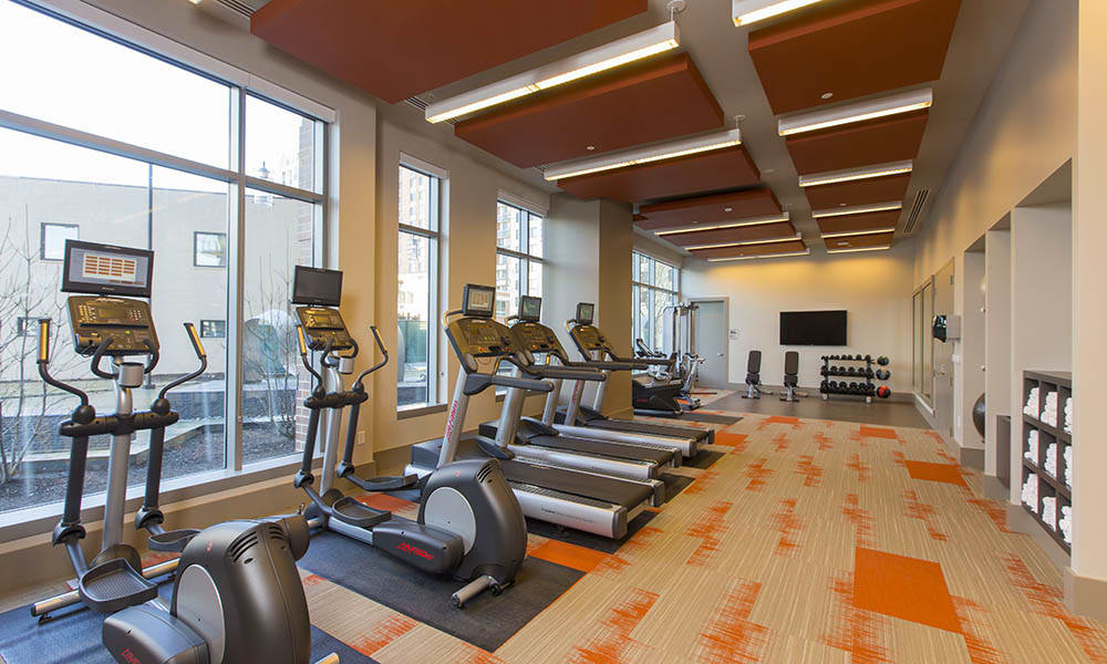 Fitness Center At Gallery Bethesda