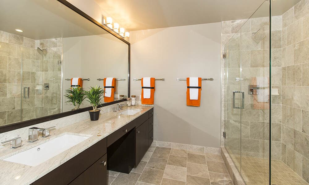 Master Bathroom At Gallery Bethesda