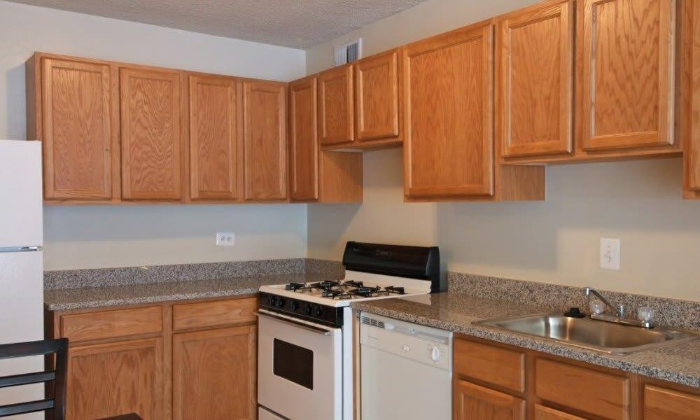 Kitchen at Marbury Plaza in Washington