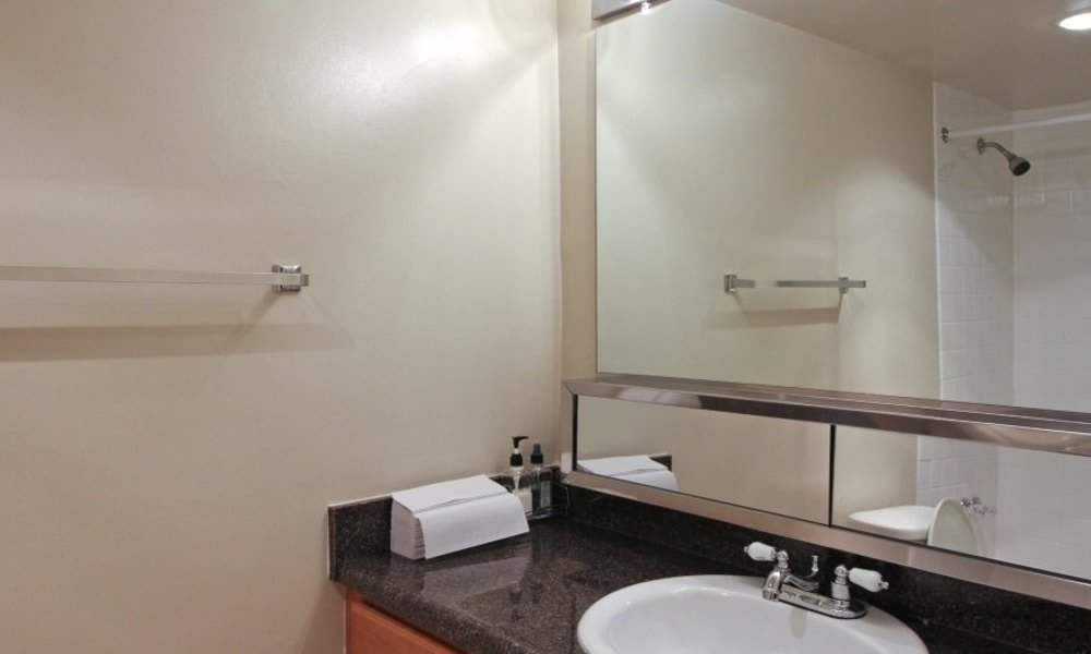 Bathroom at Marbury Plaza in Washington