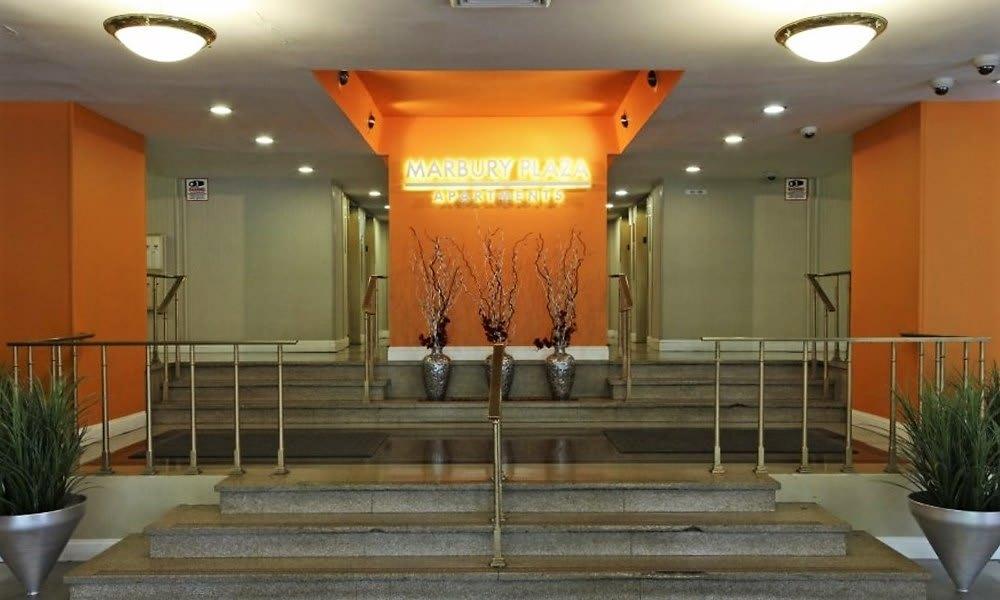 Marbury Plaza lobby in Washington, DC
