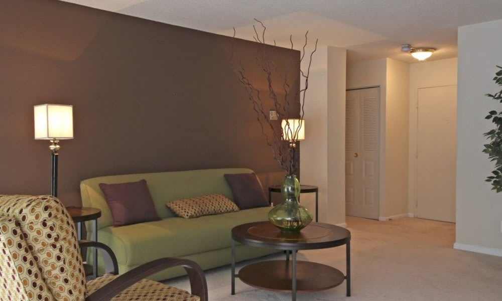 Spacious floor plans at Marbury Plaza in District of Columbia