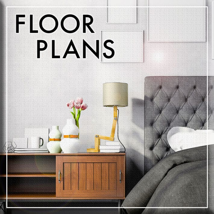 Floor plans at Marbury Plaza
