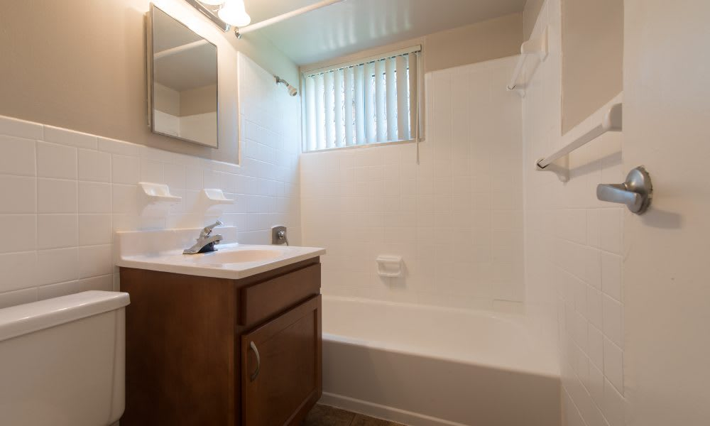 Bathroom at Park Forest Apartments in Oxon Hill