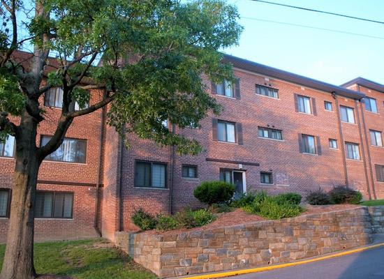 Apartment building at Park Forest Apartments in Oxon Hill