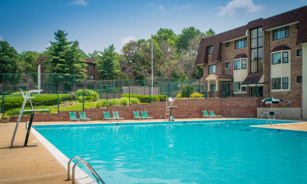 Enjoy our refreshing pool at Park Forest Apartments in Oxon Hill