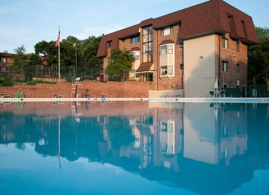 Pool at Park Forest Apartments in Oxon Hill