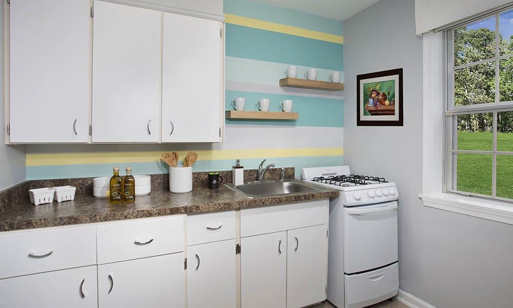 Kitchen At Queenstown Apartments