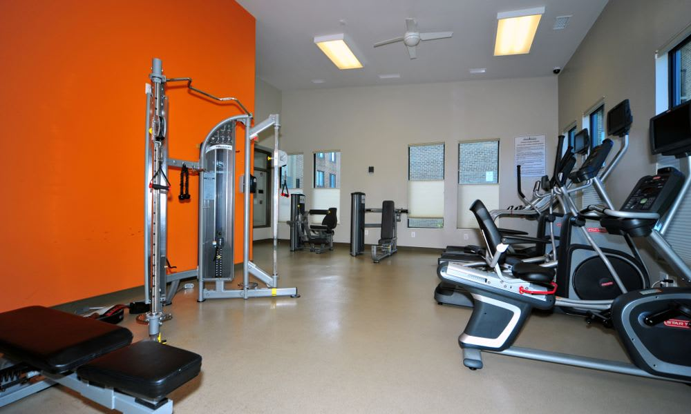 Enjoy our fitness center at Washington Apartments in Washington
