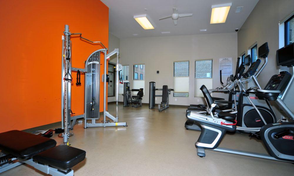 Enjoy our fitness center at Washington Apartments in Washington