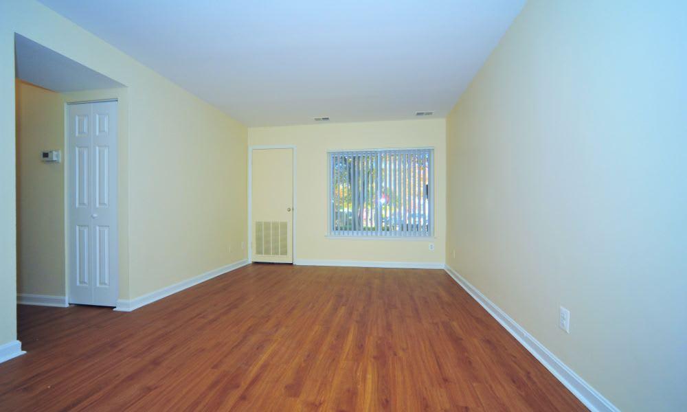 Open floor plans at Washington Apartments in Washington