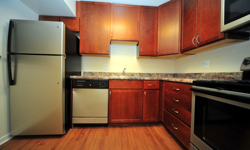 Washington Apartments kitchen in Washington, District of Columbia