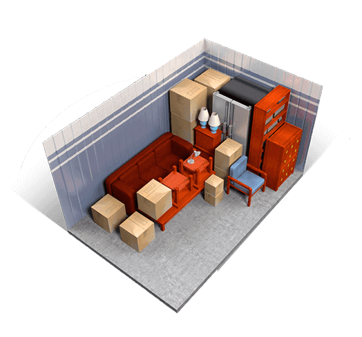 10 x 15 storage units available at A+ Mini Storage