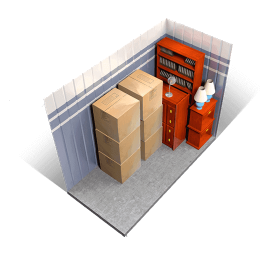 5 x 15 storage units available at A+ Mini Storage
