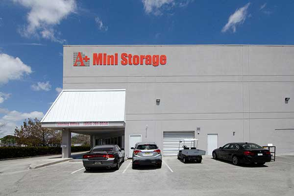Welcome to A+ Mini Storage in Davie, FL