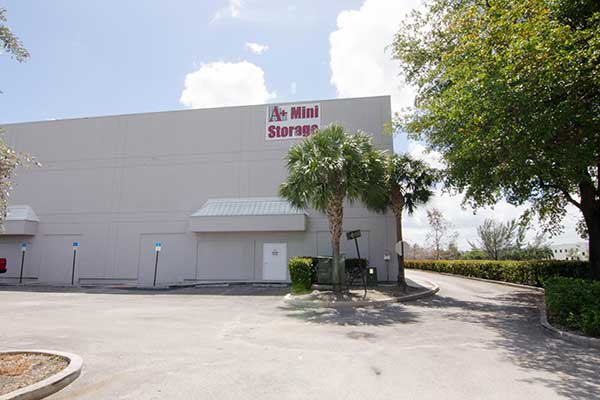 A+ Mini Storage is located in ideal Davie, FL