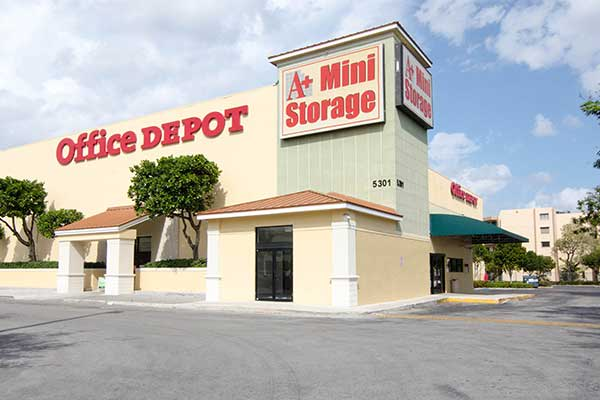 Welcome to Hialeah's A+ Mini Storage