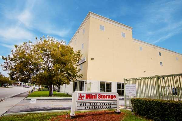 A+ Mini Storage is ideally located in Miami, FL