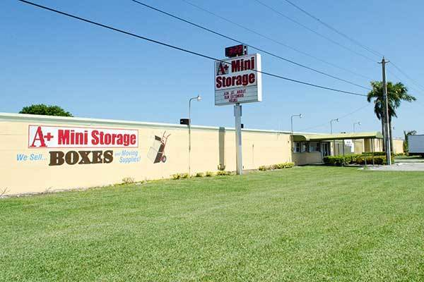 A+ Mini Storage offers clean and secure storage units.