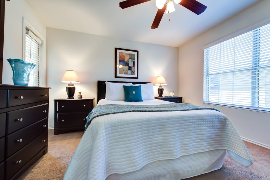 Master bedroom from CWS Home Services