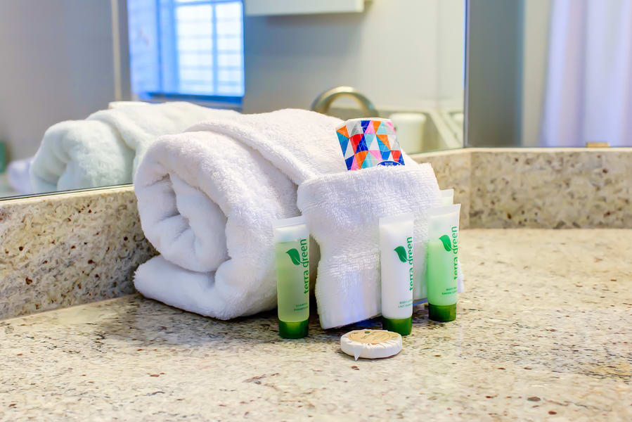 Cleaning supplies at CWS Home Services
