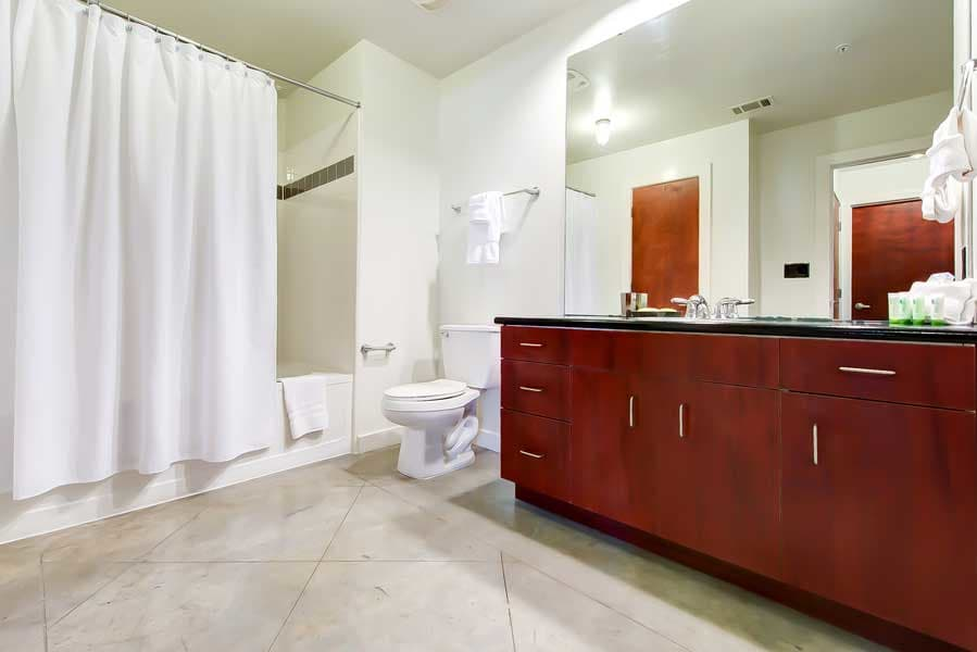 Luxury bathroom in a CWS Home Services home