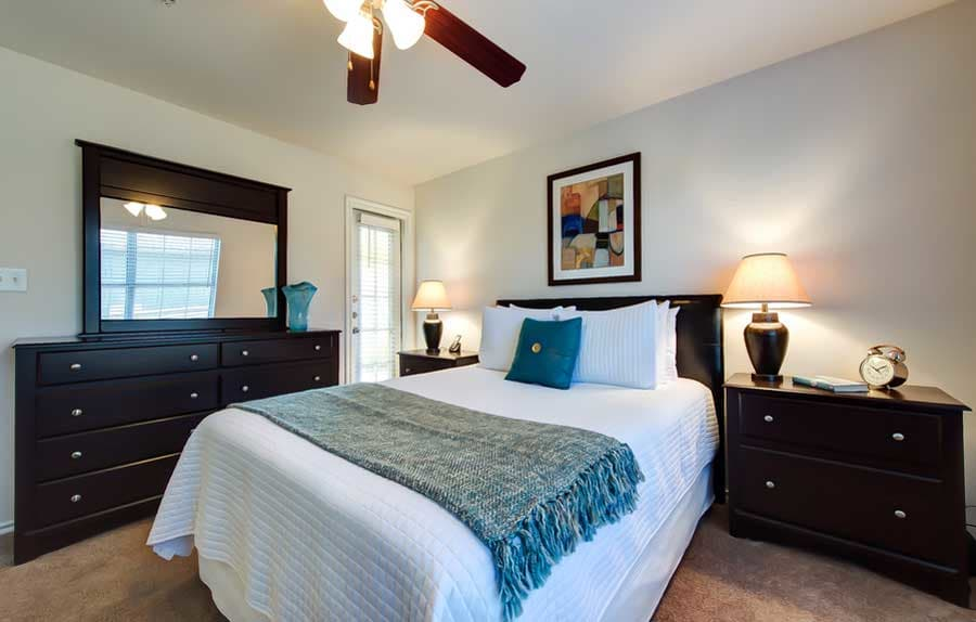 Master bedroom at CWS Home Services