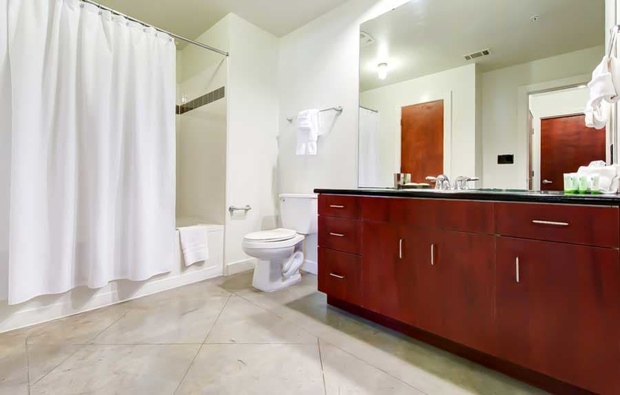 Luxury bathroom at CWS Home Services