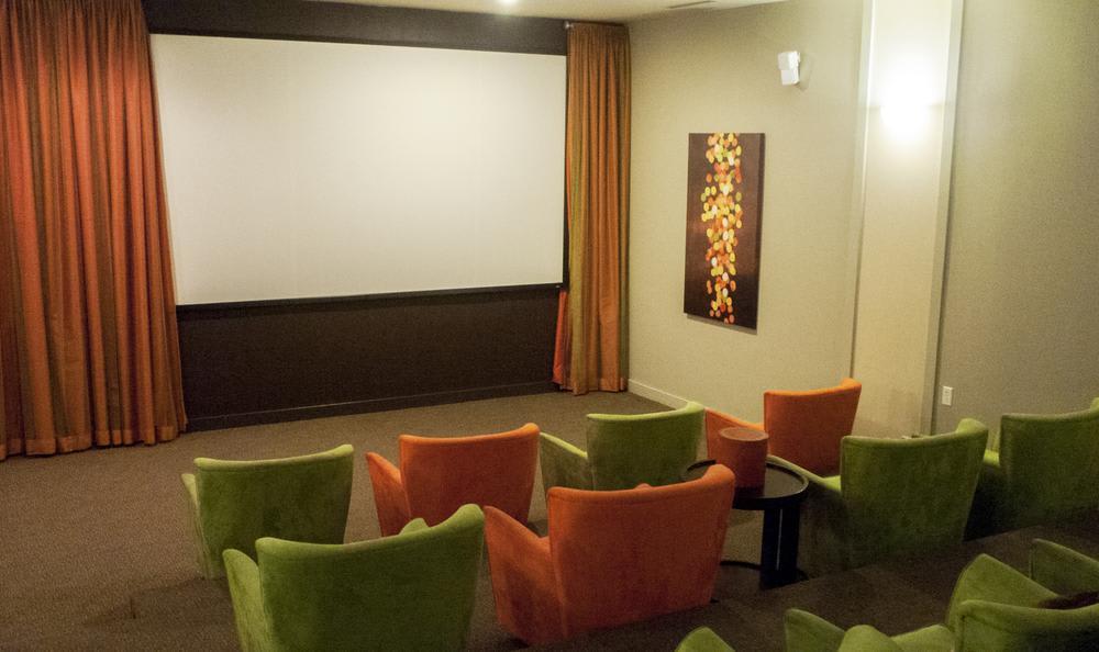 movie theater at The Flats at West Broad Village in Glen Allen, VA