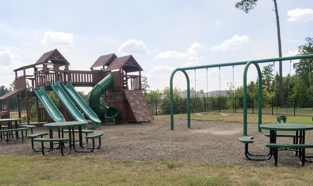 playground at The Flats at West Broad Village in Glen Allen, VA