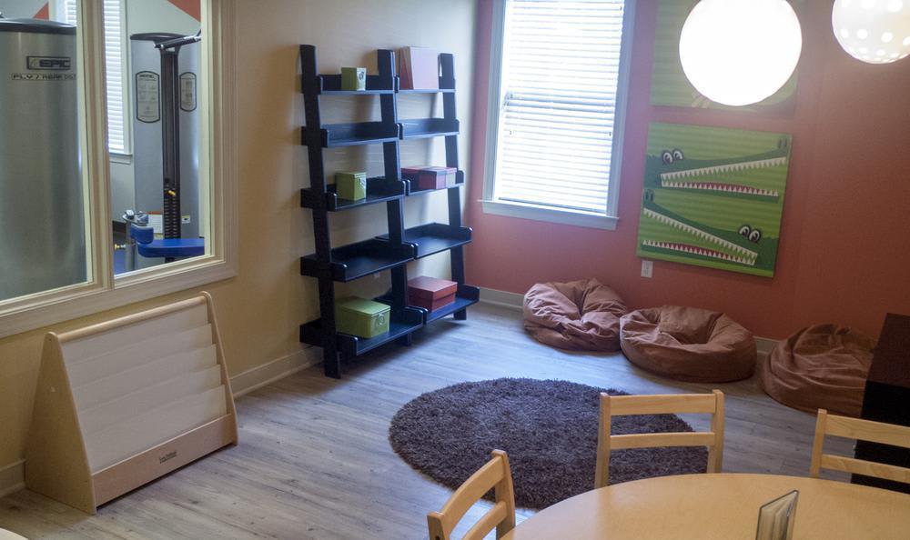playroom at The Flats at West Broad Village in Glen Allen, VA