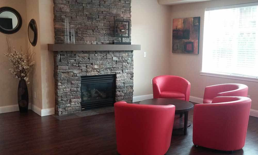 Amenities at Madison Park Apartments include a community clubhouse