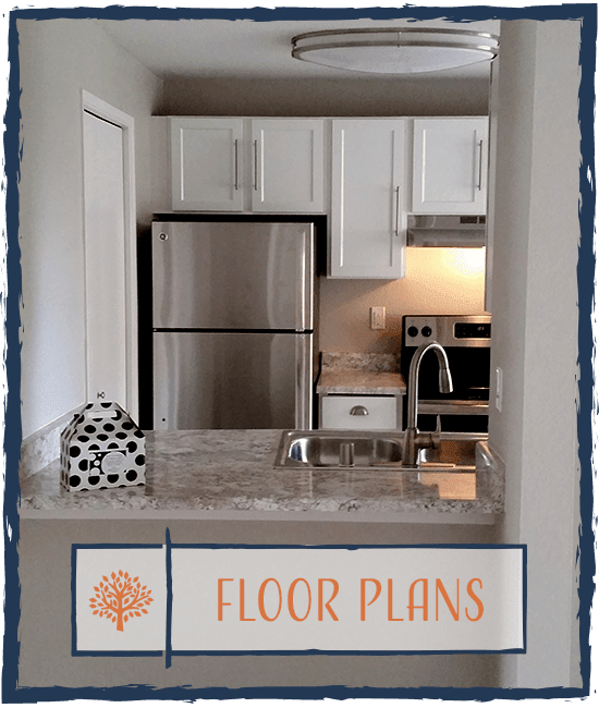 Learn more about the the floor plan options at Chestnut Hills Apartments in Puyallup, Washington