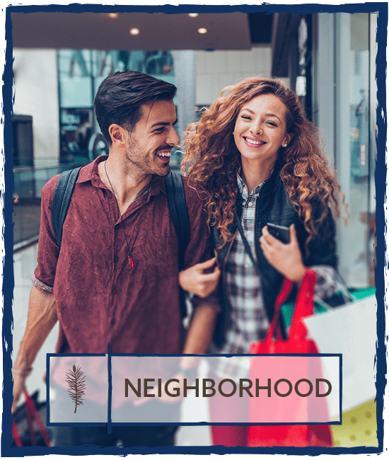 Neighborhood at Hamptons Apartments in Puyallup, Washington