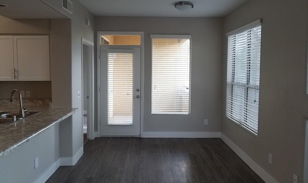 Hardwood floors at The Retreat Apartments in Phoenix