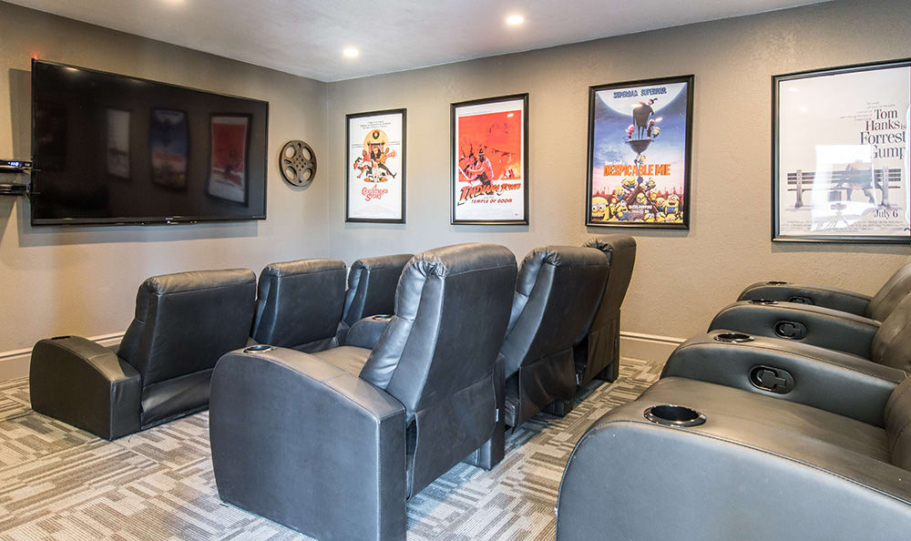 On-site movie theater at Aventerra at Dobson Ranch in Mesa