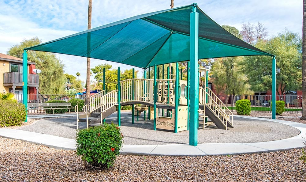 On-site playground at Aventerra at Dobson Ranch in Mesa