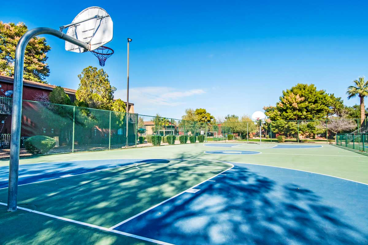 Basketball court at Aventerra at Dobson Ranch