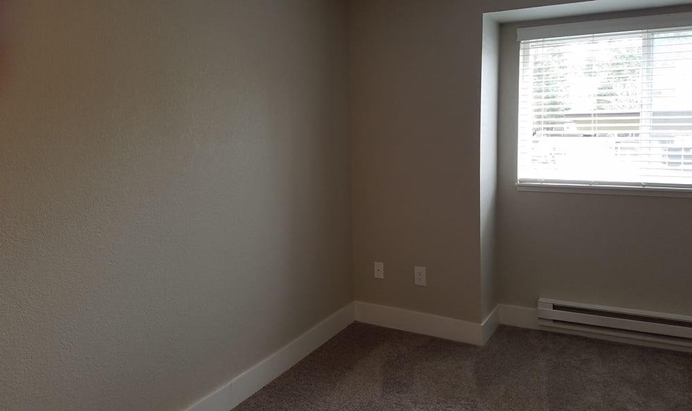 Plush carpet in bedroom at Villetta Apartments in Mesa