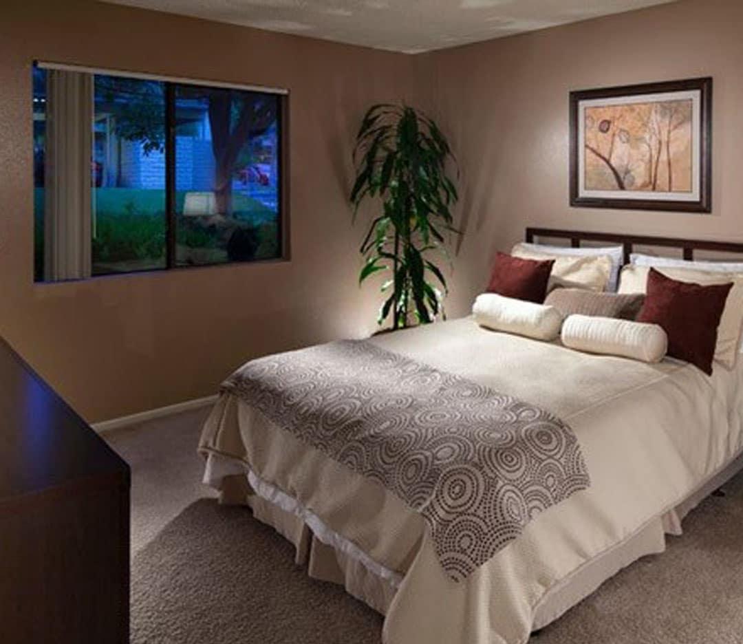 Spacious bedroom at Presidio at Rancho Del Oro in Oceanside