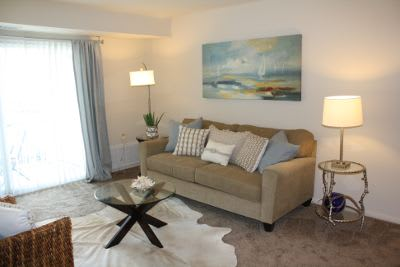 Living room at Essex Park