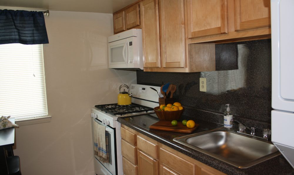 Essex Park kitchen with appliances in Maryland