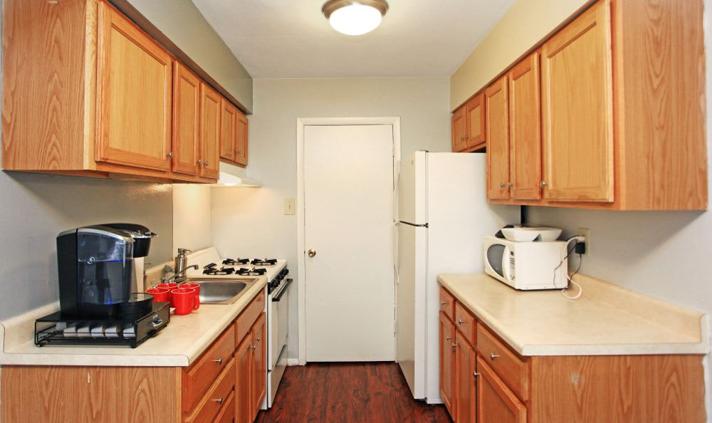 Updated kitchen at Morningside Park in Middle River
