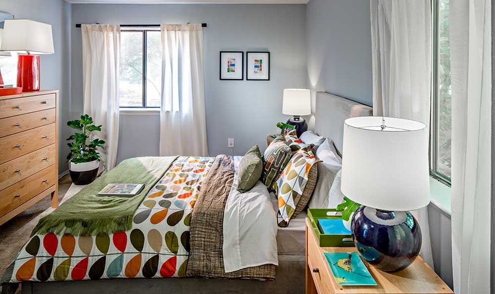 Bedroom at Quail Ridge Apartments