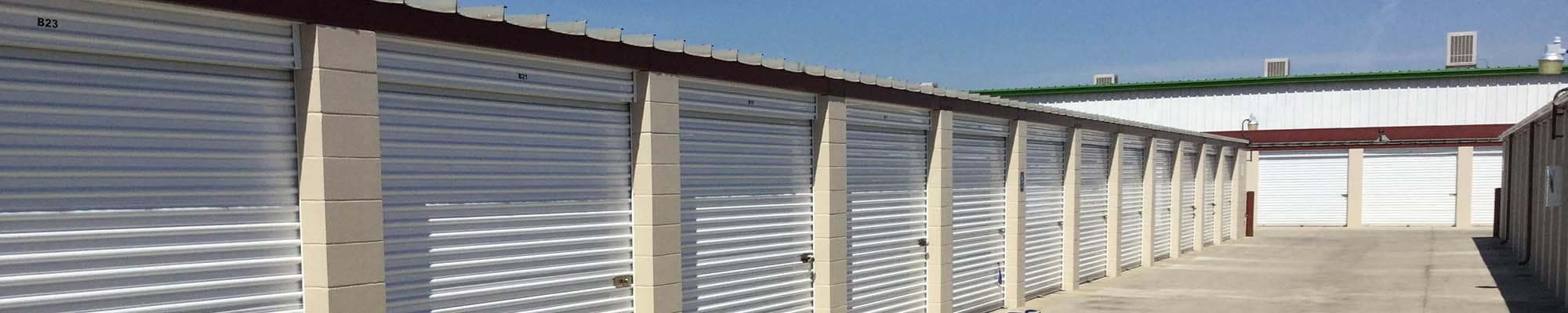 Reviews for our self storage facility in Visalia