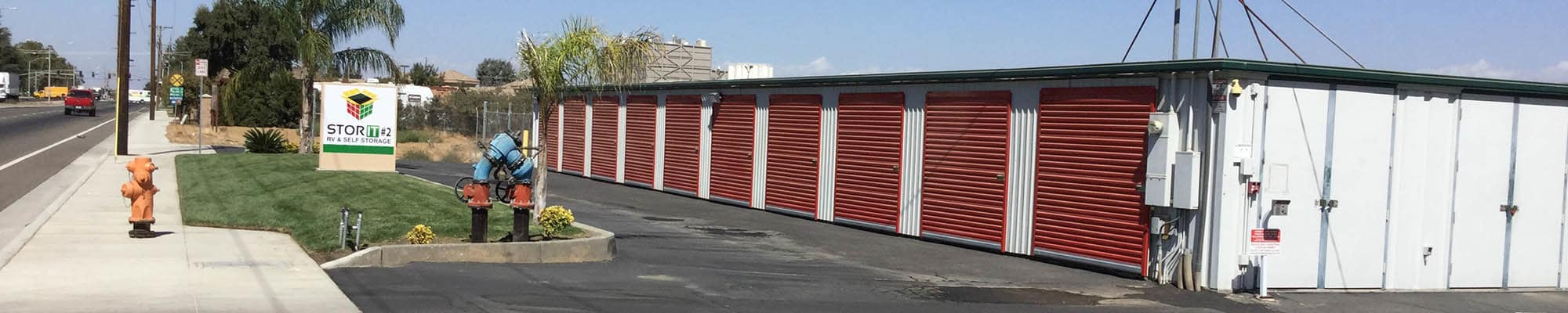 Contact us at the self storage facility in Stor It Self Storage