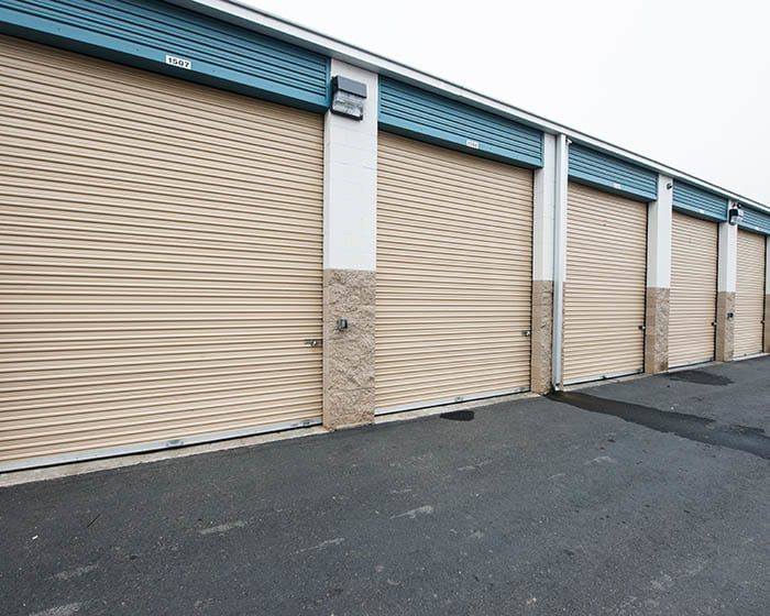 Storage units at Clovis Storage & Executive Office Suites in Clovis